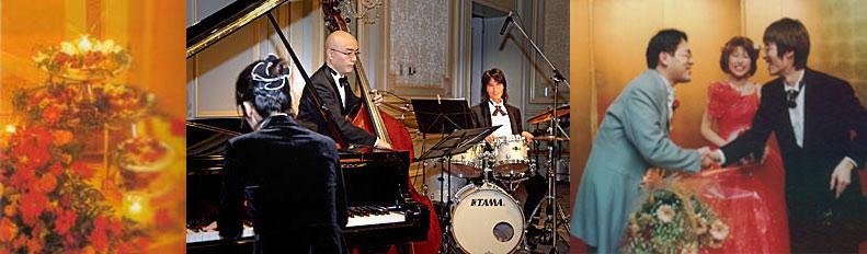 奏者手配・派遣/一流ジャズプレーヤーの演奏をひとりじめ♪パーティ、披露宴、イベントなどをよりゴージャスに演出!